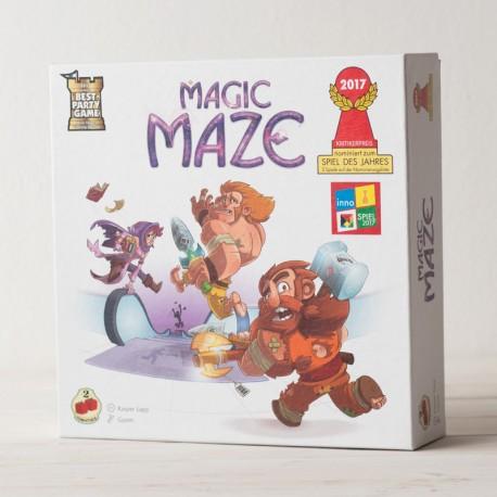 Magic Maze - juego cooperativo para 1-8 jugadores