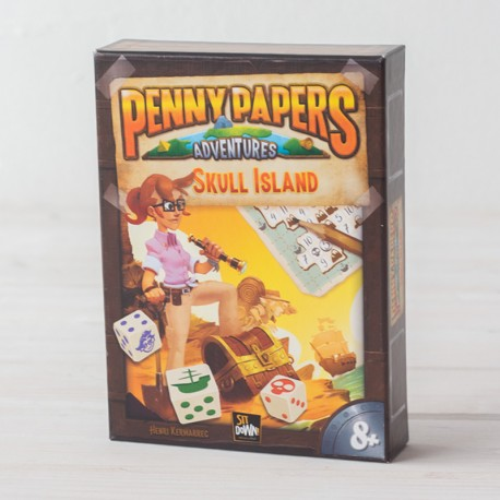 Penny Papers: La Isla de la Calavera - juego de búsqueda del tesoro para 1-100 jugadores