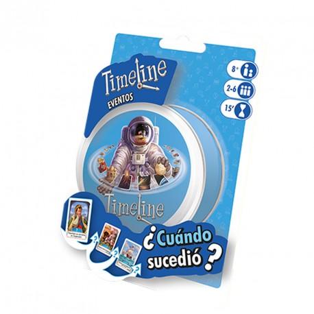 Time Line Esdeveniments (blister) - joc de cartes de coneixements generals