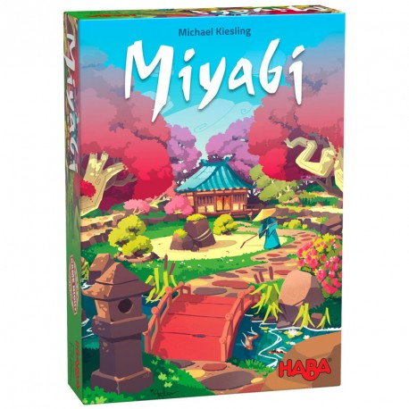Miyabi - variado juego de composición para 2-4 jugadores