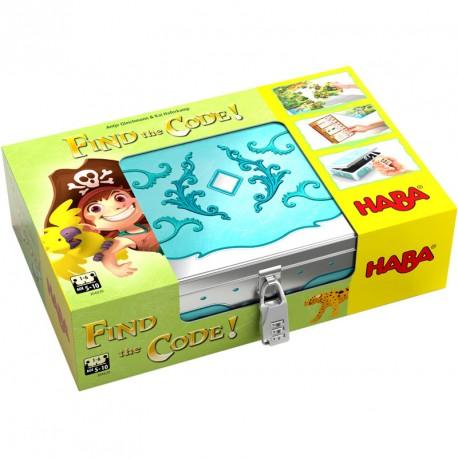 Find the Code! Isla Pirata - emocionante juego de enigmas para 1-6 jugadores