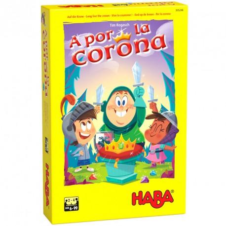 A por la Corona - dinámico juego de carcajadas y tesoros para 2 -4 jugadores