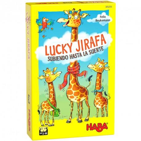 Lucky Jirafa - juego de composición para 2-4 jugadores