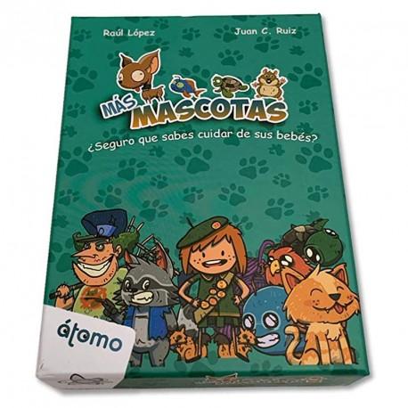 Més Mascotes - amplia el cuidador joc de cartes familiar