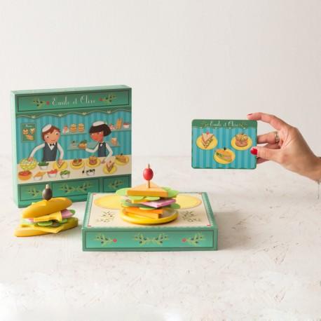 La bocatería de Emile et Olive - juguete de madera