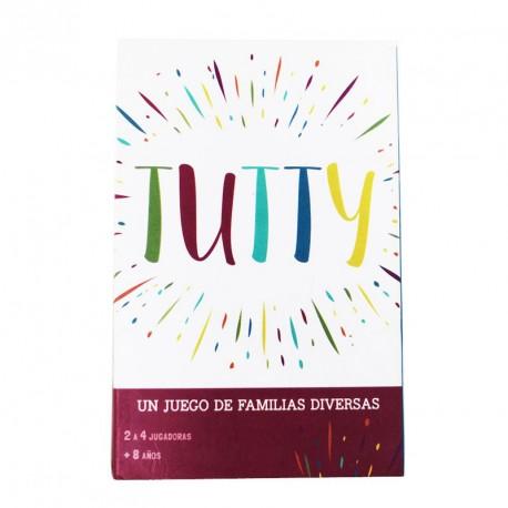 Tutty - Un joc de cartes de famílies diverses en castellà
