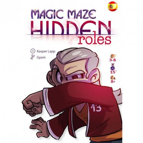 Magic Maze Expansión Roles Ocultos - juego cooperativo para 1-8 jugadores