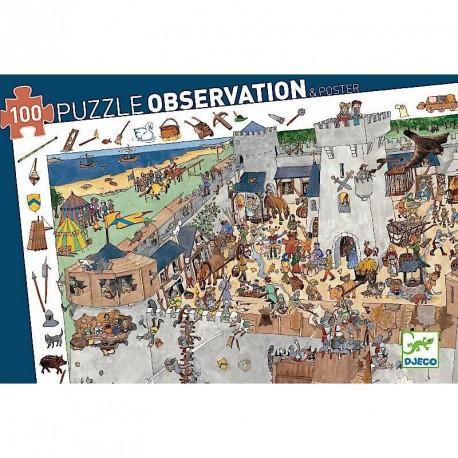 Puzzle observación Castillo - 100 pzas.