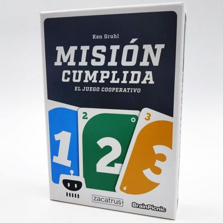 Misión Cumplida - juego de cartas cooperativo para 1-4 jugadores
