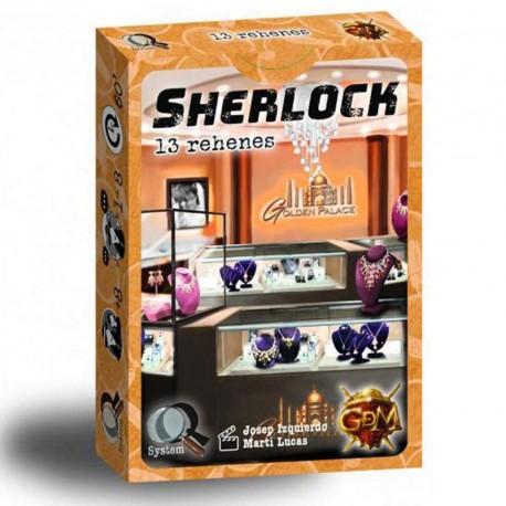 Serie Q: Sherlock: 13 Rehenes - juego de investigación en equipo para 1-8 jugadores