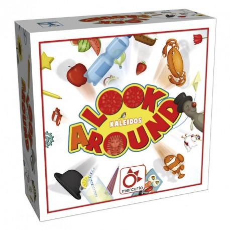 Look Around - juego de vocabulario y objetos ocultos para 2-6 jugadores