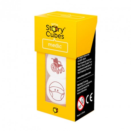 Rory's Story Cubes Medicina - extensió de 3 daus per crear històries
