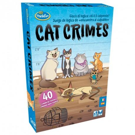Cat Crimes - felí joc de lògica per a 1 jugador