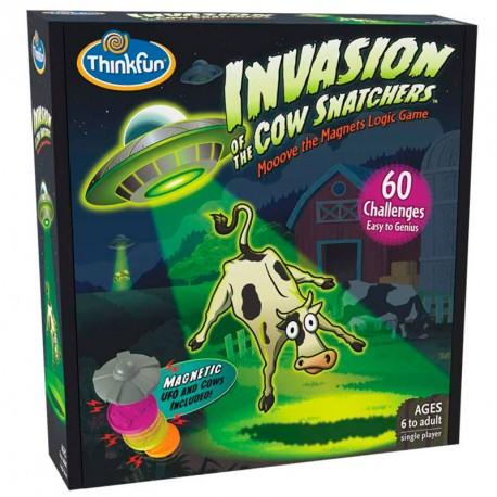 Invasion of the cow snatchers - juego de lógica con retos para 1 jugador