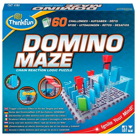 Domino Maze - Juego de lógica y construcción