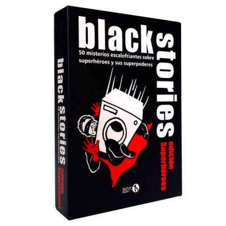 Black Stories Edició Superherois - 50 misteris esgarrifosos