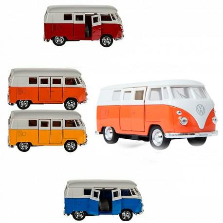 Volkswagen T1 Bus (1963) Grog - furgoneta a escala de metall