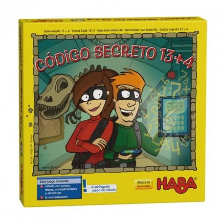 Código secreto 13+4 - Juego de cálculo mental en español