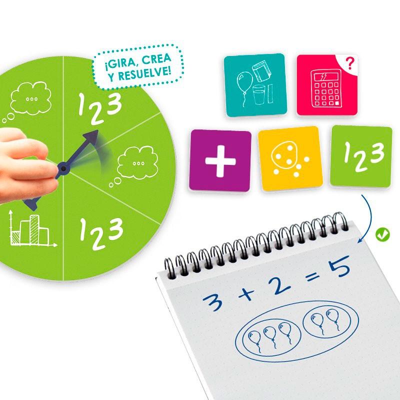 Set Para Inventar Y Resolver Problemas Matematicos Envio En 24 48 Hrs Kinuma Com Tienda De Material Didactivo