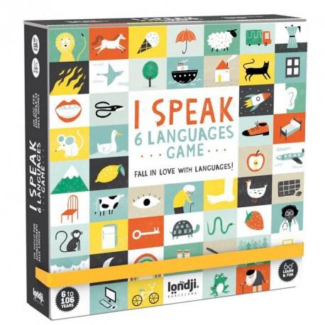 I speak 6 languages game - joc lingüístic per a 2-6 jugadors