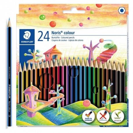 24 lápices de color