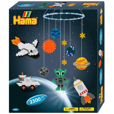 Caixa regalo Espai - 2500 perles Hama