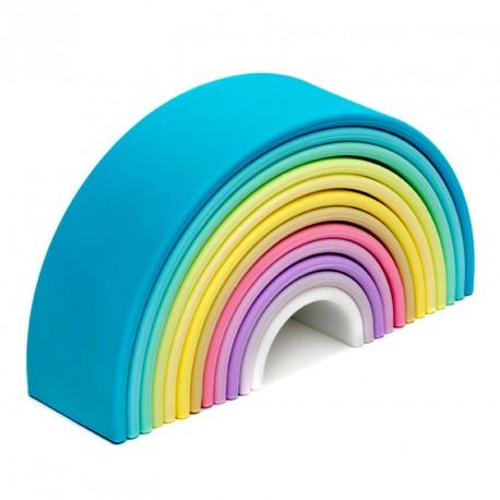 dëna Rainbow - El meu primer arc de sant marti de silicona colors pastel 12 arcs