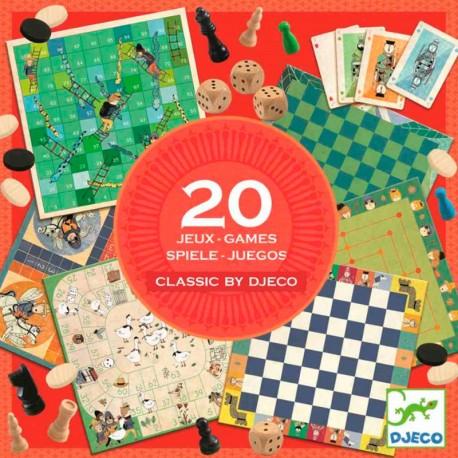 Colección de 20 juegos clásicos
