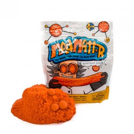 Mad Mattr - masa arenosa moldeable color naranja