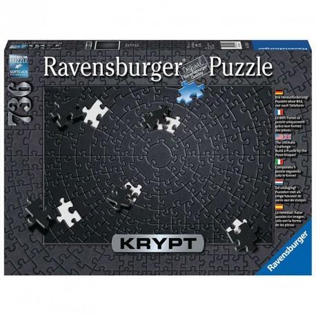 Puzzle KRYPT Black - 736 pzas