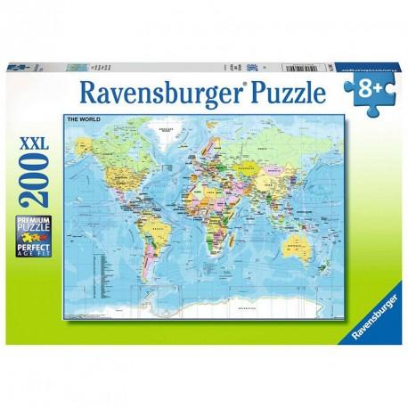 Puzle Mapa del Món - 200 pces
