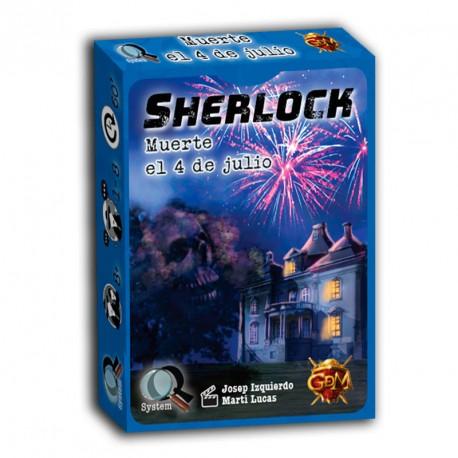 Serie Q: Sherlock: Muerte el 4 de julio - juego de investigación en equipo para 1-8 jugadores