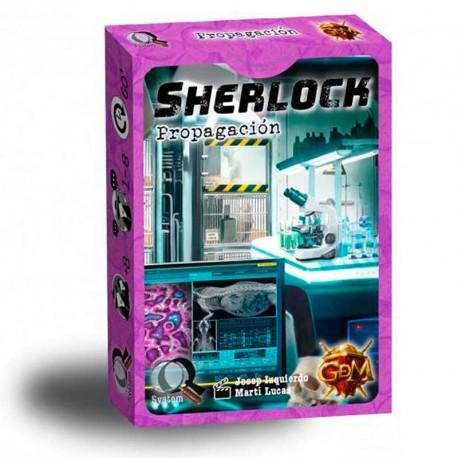 Serie Q: Sherlock: Propagación - juego de investigación en equipo para 1-8 jugadores