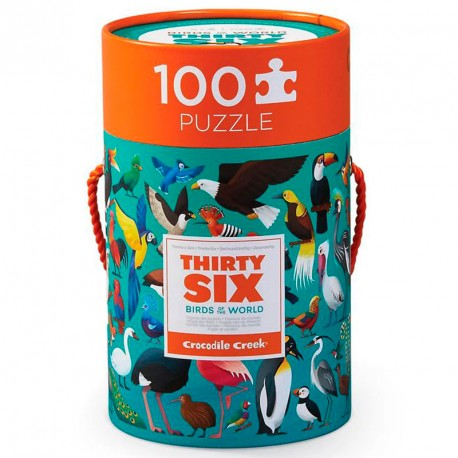 Puzzle Thirty Six Mariposas - 100 pzas.