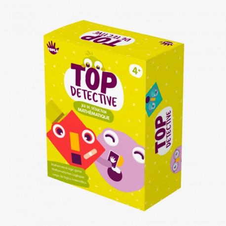 Top Detective - juego de deducción matemática para 2 jugadores