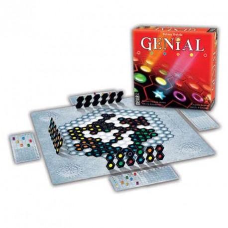 Genial - juego de estrategia para 1-4 jugadores - nuevo formato