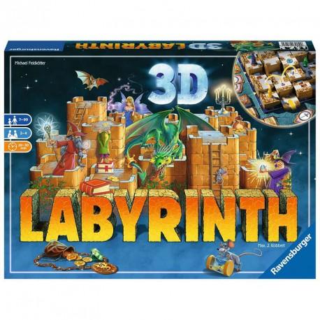 Laberinto 3D - juego de estrategia para 2-4 jugadores