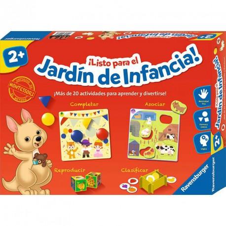Llest per al Jardí d'Infància - activitats per a 1-3 jugadors