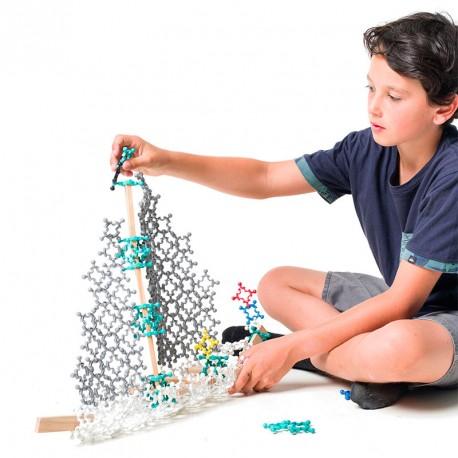 Structure 100 piezas - juego de construcción de pieza única