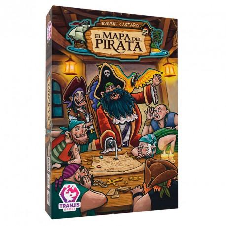 El mapa del Pirata - juego de narración y memoria para 2-6 jugadores