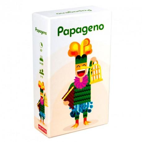 Papageno - inteligente juego con cartas mini para 2-5 jugadores