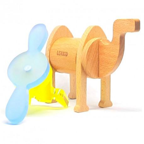 Fauna Imaginaria Camello Snack 6 piezas- Juguete imantado de construcción