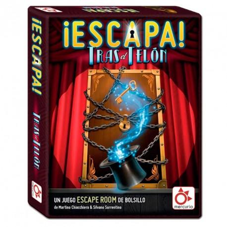 Escapa! Darrere del Teló - Joc de escape room per a 1-6 jugadors