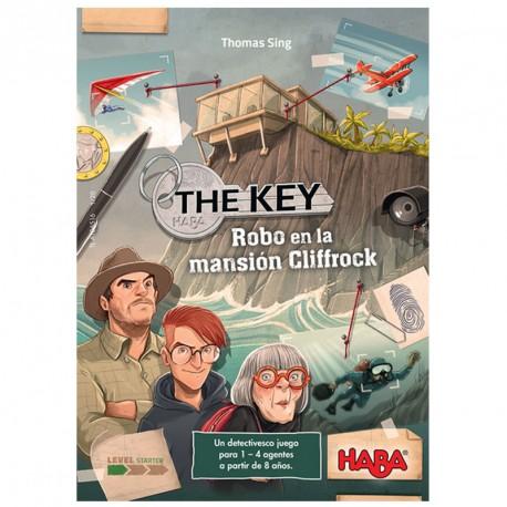 The Key: Robo en la mansión Cliffrock - Juego de deducción para 1-4 jugadores