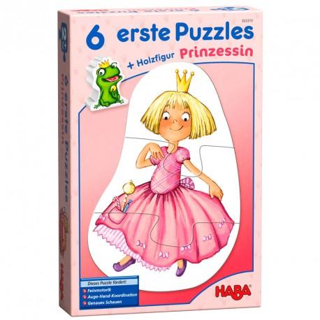 6 Primeros puzzles - Princesa