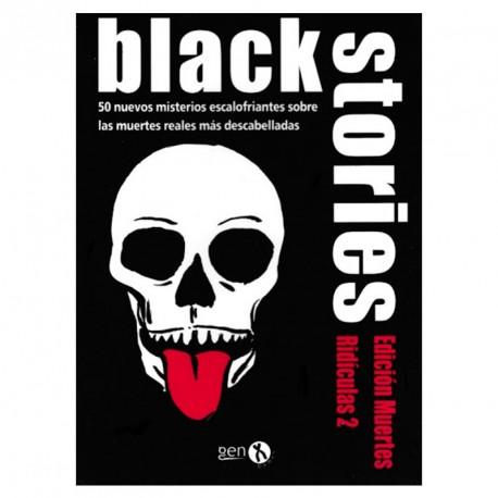 Black Stories Edición Muertes Ridículas 2- 50 misterios escalofriantes