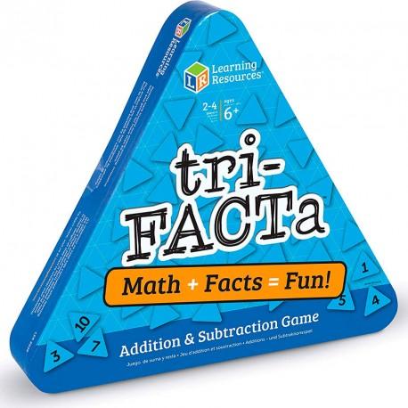 Tri-Facta - juego de sumar y restar para 2-4 jugadores