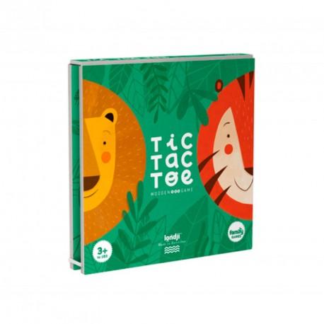 Tres en ratlla Tigre i León - joc d'estratègia per a 2 jugadors