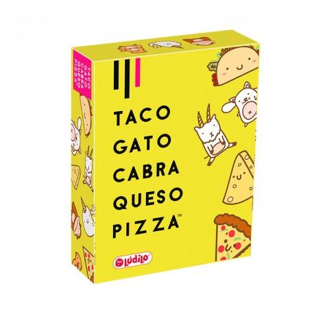 Taco, Gato, Cabra, Queso, Pizza - rápido juego de percepción visual para 3-6 jugadores
