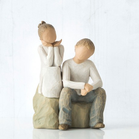 Figuras decorativas Willow Tree - Hermano y Hermana